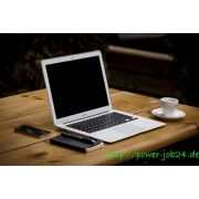 Zuhause arbeiten mit Internet und Telefon  job image