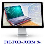 Im Team online arbeiten mit Home Office job image